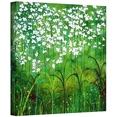 ArtWall 'Spring Garden' by Herb Dickinson Graphic Art on Wrapped Canvas; 14'' H x 14'' W