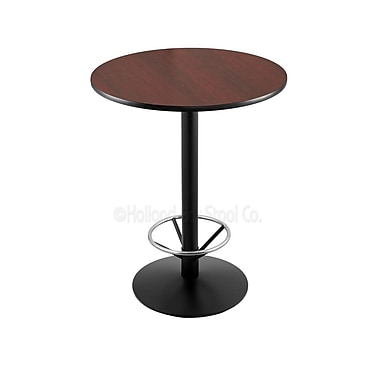 Holland Bar Stool 42'' Pub Table; 30'' Dia