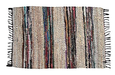 Ess Ess Exports Broadway Handmade Beige Area Rug; 2'6'' x 4'2''