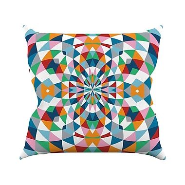 KESS InHouse Modern Day Throw Pillow; 18'' H x 18'' W