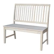 International Concepts Wood Bench