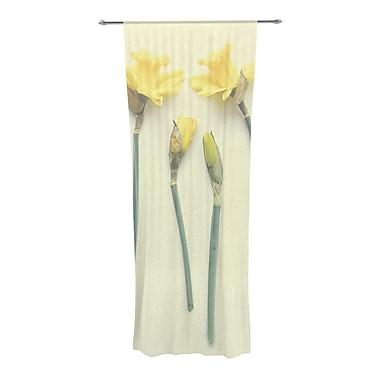 KESS InHouse Springtime Nature/Floral Semi-Sheer Curtain Panels (Set of 2)