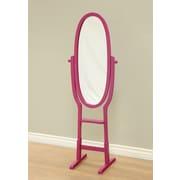 Mega Home Freestanding Mirror; Purple