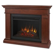 Real Flame Kennedy Grand 56'' TV Stand w/ Fireplace; White
