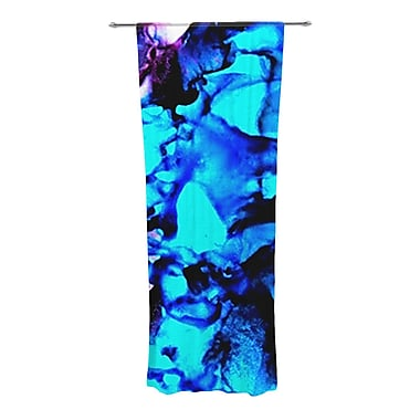 KESS InHouse Peace Offering Abstract Semi-Sheer Curtain Panel (Set of 2)