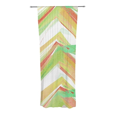 KESS InHouse Summer Party Chevron Sheer Rod