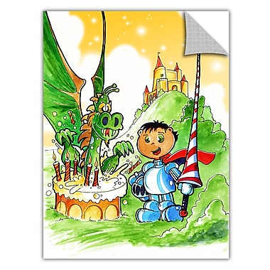 ArtWall ArtApeelz 'Knight Kid' by Luis Peres Graphic Art Removable Wall Decal