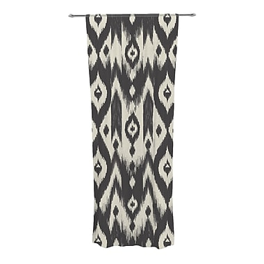 KESS InHouse Tribal Ikat Semi-Sheer Curtain Panels (Set of 2)
