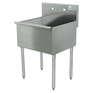Advance Tabco 600 Series 18'' x 21.5'' Single Floor Service Sink