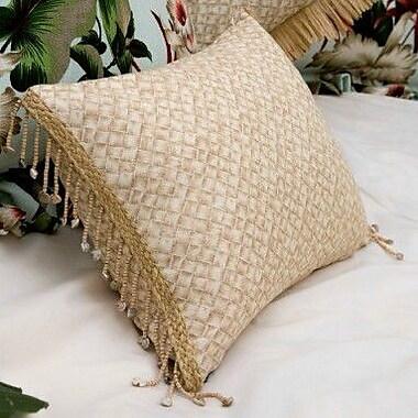 Hanalei Basketweave by Hanalei Home Throw Pillow