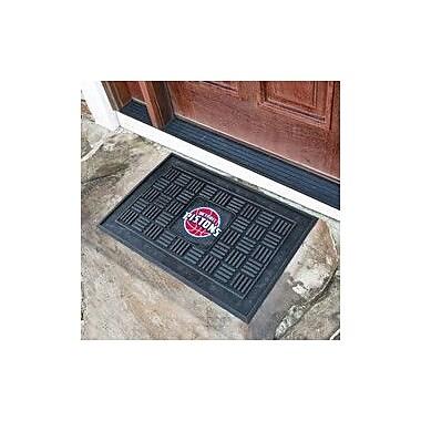 FANMATS NBA - Detroit Pistons Medallion Doormat