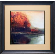 North American Art 'Touch of Gold' by Asia Jensen Framed Painting Print