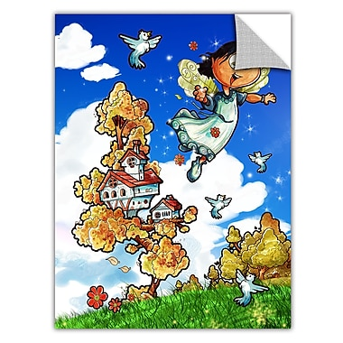 ArtWall ArtApeelz 'House' by Luis Peres Graphic Art Removable Wall Decal; 48'' H x 36'' W x 0.1'' D