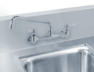 Advance Tabco Countertop Welded in Top Sink; 8'' H x 20'' W x 20'' D