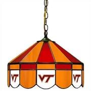 Wave 7 NCAA Wide Swag Hanging Lamp; Virginia Tech