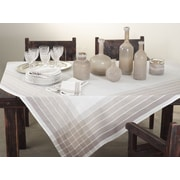 Saro Striped Tablecloth