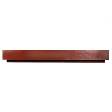 D'Vontz MDV Modular Cabinetry 54'' Wood Stretcher for MDV Base; Traditional Cherry