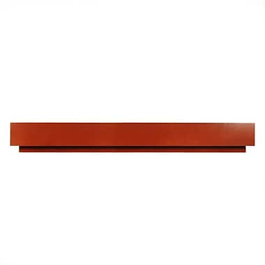 D'Vontz MDV Modular Cabinetry 84'' Wood Stretcher for MDV Base; Golden Oak