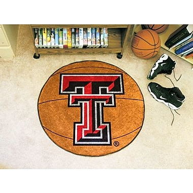 FANMATS NCAA Texas Tech University Basketball Mat