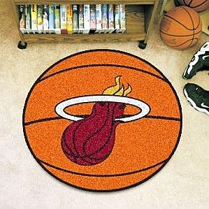 FANMATS NBA - Miami Heat Basketball Doormat