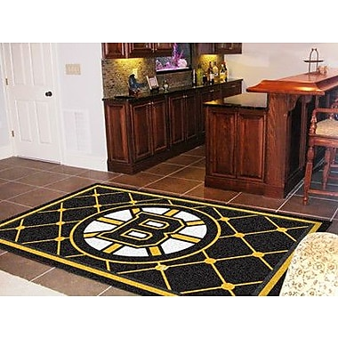 FANMATS NHL - Boston Bruins 5x8 Rug; 3'10'' x 6'