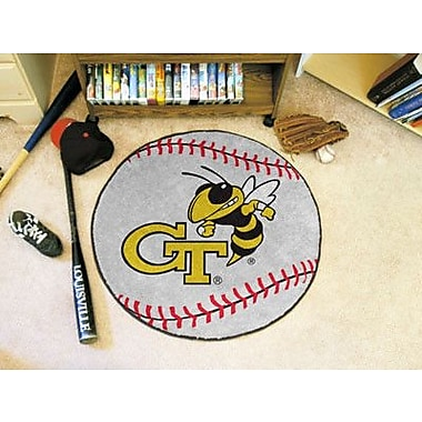 FANMATS NCAA Georgia Tech Baseball Mat