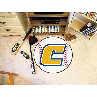 FANMATS NCAA University Tennessee Chattanooga Baseball Mat