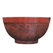 Griffith Creek Designs Fiber Clay Pot Planter; Ruby