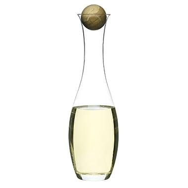 Sagaform Oval Oak Wine Decanter