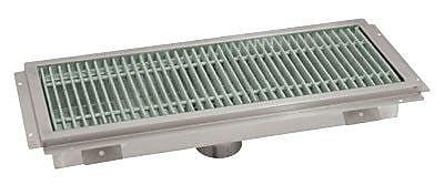Advance Tabco Floor Trough Grid Shower Drain; 7'' H x 32'' W x 14'' D
