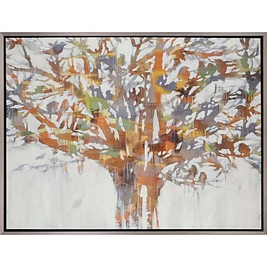 Paragon Silver Branches by Jardine Framed Painting Print