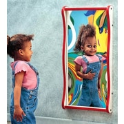 Playscapes Giant Giggle Wall Mirror; Purple / Green