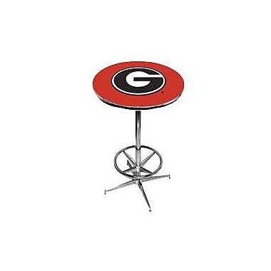 Wave 7 NCAA Pub Table; Georgia - Red
