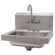 Advance Tabco 17.25 inch x 15.25 inch Single Hand Sink w/ Faucet by