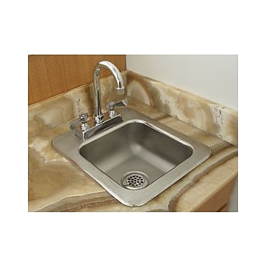 Advance Tabco 31'' x 25'' Single 1 Compartment Seamless Bowl Drop In Hand Sink
