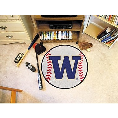 FANMATS NCAA University of Washington Baseball Mat