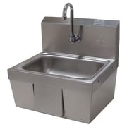 Advance Tabco 17.25 inch x 15.25 inch Single Hands Free Hand Sink by