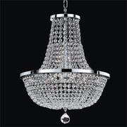 Glow Lighting Synergy 8-Light Empire Chandelier; 20.5'' H x 16'' W