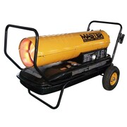 Master 215,000 BTU Portable Kerosene Forced Air Utility Heater w/ Thermostat