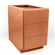 D'Vontz MDV Modular Cabinetry 18'' W x 25.5'' H Cabinet; Golden Oak