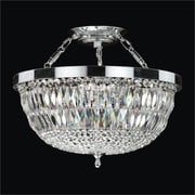 Glow Lighting Lucia 5-Light Semi-Flush Mount; 16.5'' H x 16.5'' W