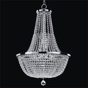 Glow Lighting Synergy 8-Light Empire Chandelier; 27.5'' H x 18.5'' W