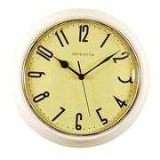 Ashton Sutton Retrospective Wall Clock; White