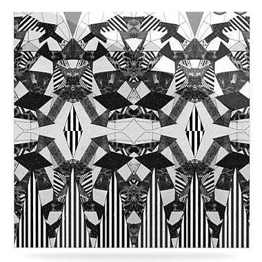 KESS InHouse Tessellation by Vasare Nar Graphic Art Plaque; 8'' H x 8'' W
