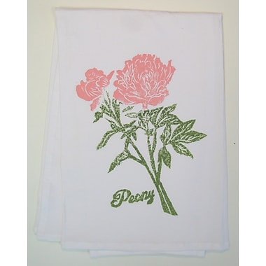 Lowcountry Linens Peony Kitchen Towel