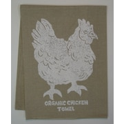 Lowcountry Linens Natural Organic Chicken Kitchen Towel