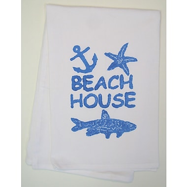 Lowcountry Linens Beach House Kitchen Towel