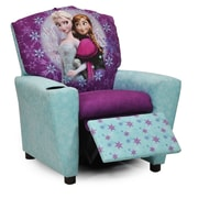 KidzWorld Disney's ''Frozen'' Kids Recliner Chair w/ Cup Holder