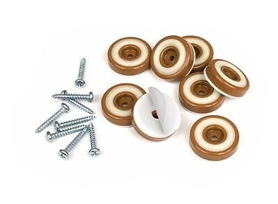 Slipstick Furniture Floor Protector Gripper (Set of 8); Caramel