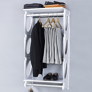 KiO 24''W Closet System; White